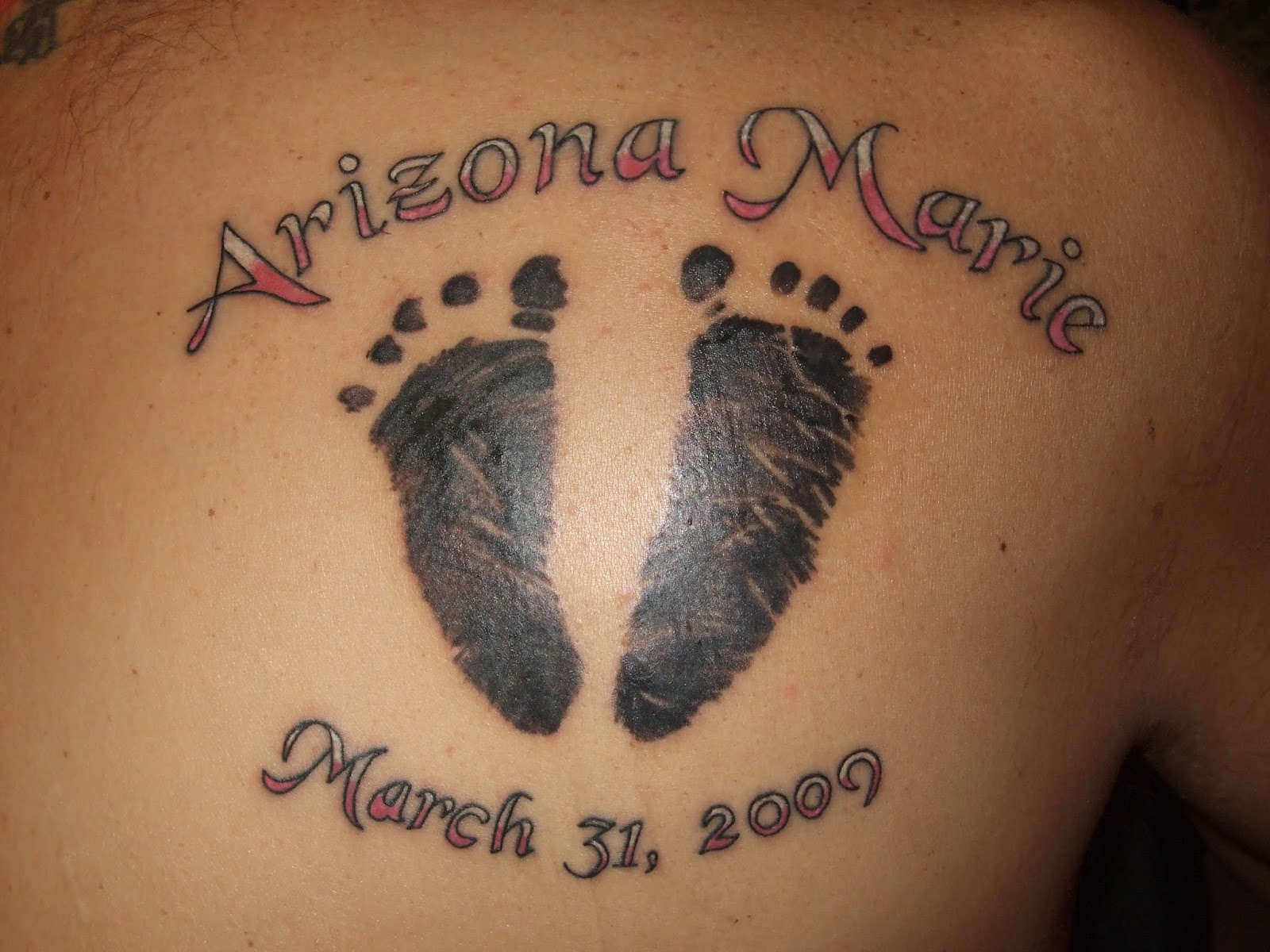 Baby Footprint Tattoos