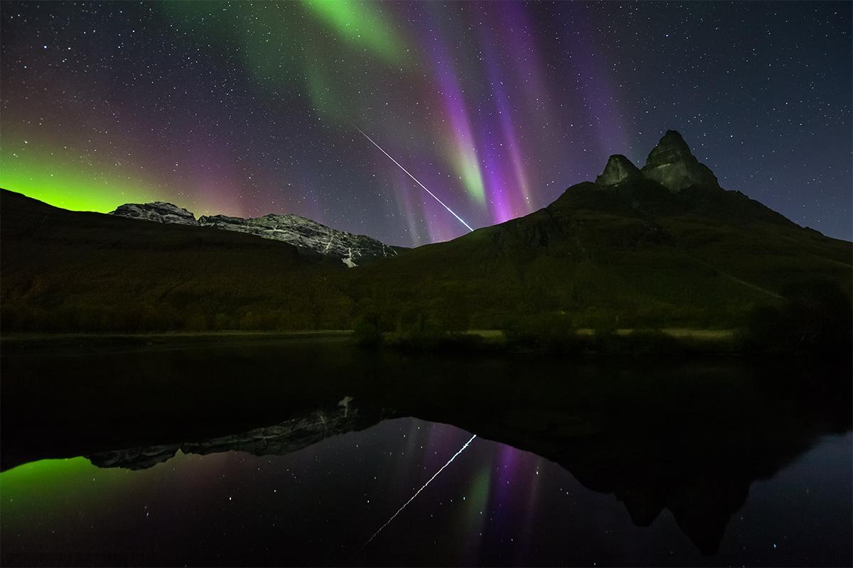 Aurora Fireball Norway