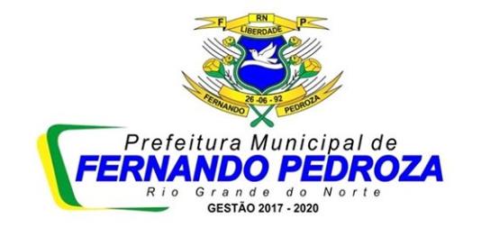 PREFEITURA DE FERNANDO PEDROZA - GESTÃO 2017/2020