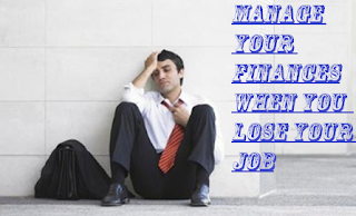 Manage Money When lost job
