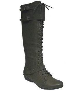 botas cordones mujer