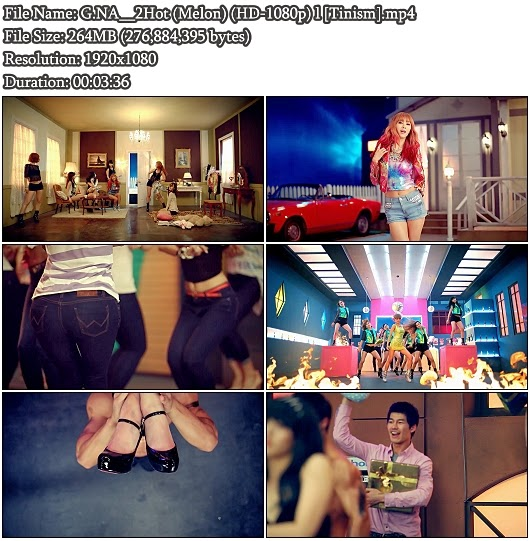 Download MV G.NA (최지나) - 2Hot (Melon Full HD 1080p)