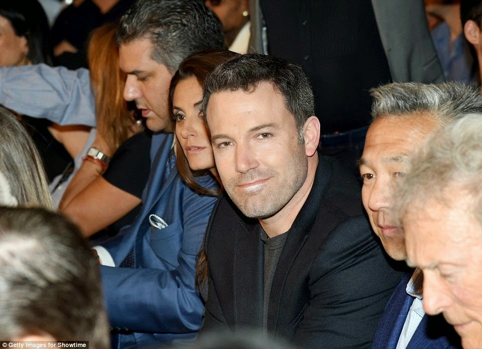Ben Affleck at the Fight of the Century