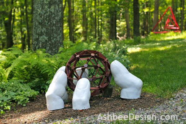 Landscape Garden Art : Ashbee design garden sculpture shuffle
