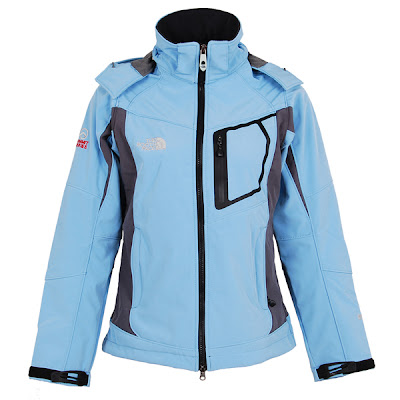 Womens North Face Redpoint Goretex Jackets Sky Blue