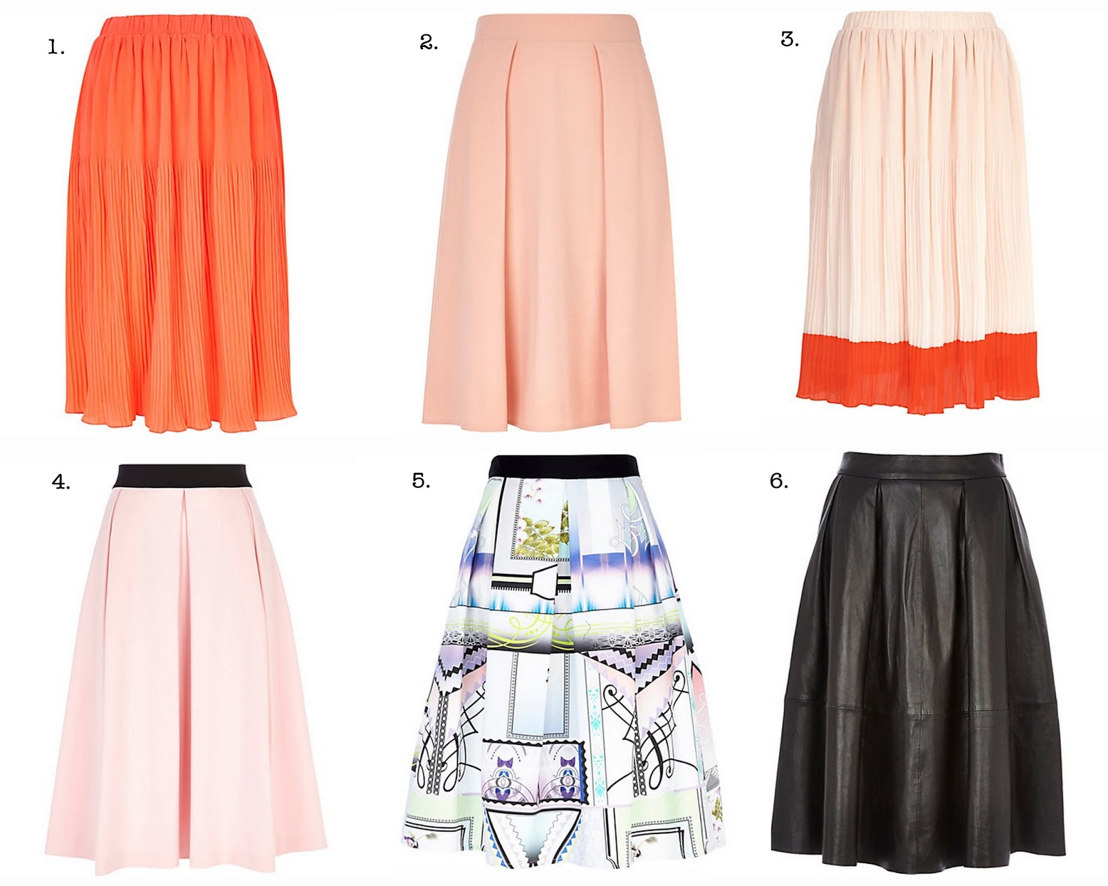 Frills and Thrills: The Midi Skirt Trend