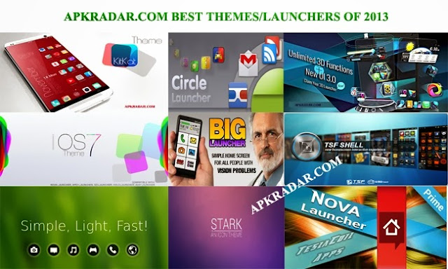 The Top 20 Best Android Launchers and Themes 2013