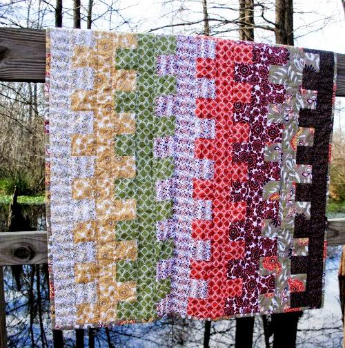 Garden Ladder Lap Quilt