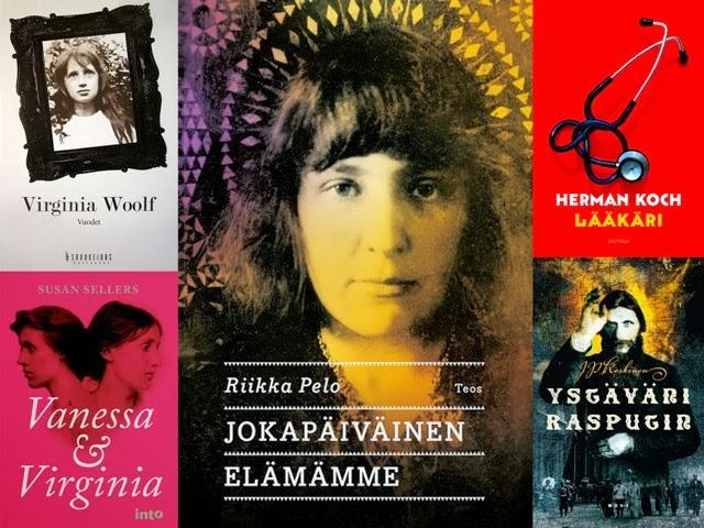 Vuoden 2013 parhaat kirjat Leena Lumissa