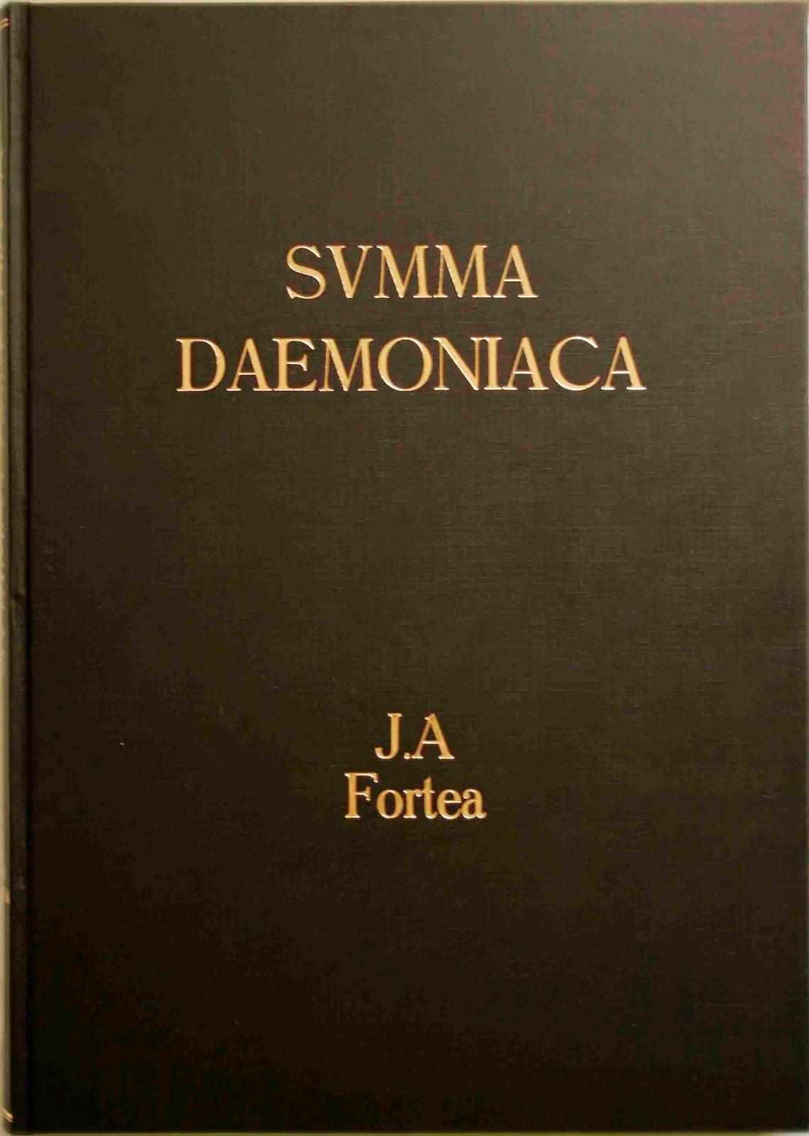 Descargar:  José Antonio Fortea - Summa Daemoniaca, tratado de demonología y manual de exorcistas