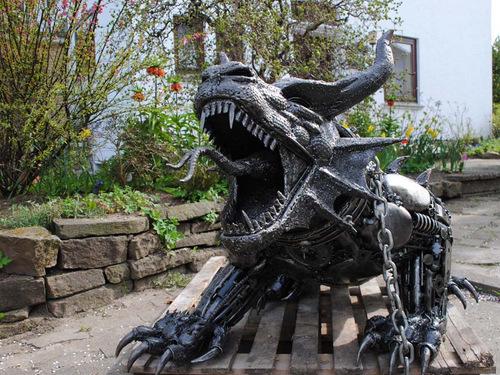 1b-Large-Fantasy-Sculpture-Dragon-Giganten-Aus-Stahl