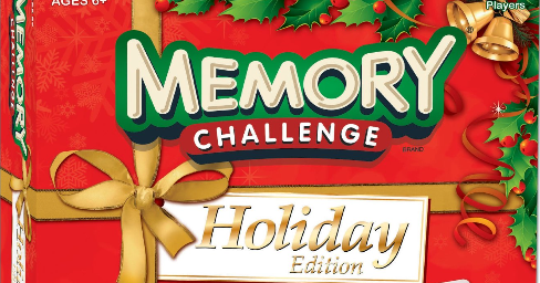 The Playful Otter: Memory Challenge Holiday