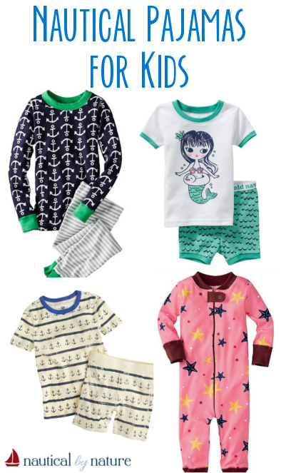 Nautical by Nature | Nautical Pajamas for Kids