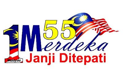 Tema rasmi Hari Kemerdekaan ke 55 tahun telah ditetapkan iaitu '55