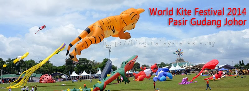 Pasir Gudang World Kite Festival 2014