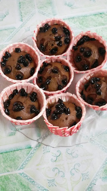 Cupcakes milo.cupcakes coklat,resepi cupcakes,resepi cupcakes milo,gambar cupcakes