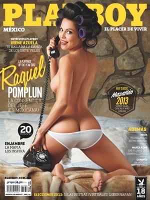 chica, chica 1X2, Raquel Pomplun, Playmate, Playboy, latina, año, 2013, mexicana americana, futbolera, morena, latina, curvas, culo, tetas, desnuda