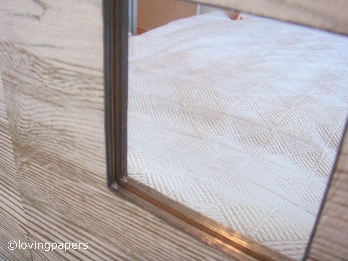 Cabecera de cama con espejos de Ikea | Some little gifts