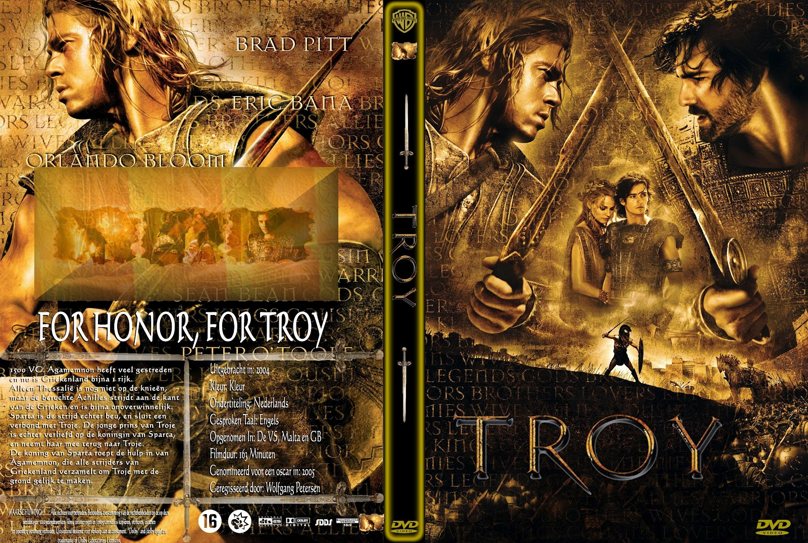 Troy Dvd Front Cover