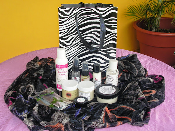 International Natural Hair Meetup Day: what's in my swag bag???!!!