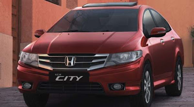 All New Honda City 2012