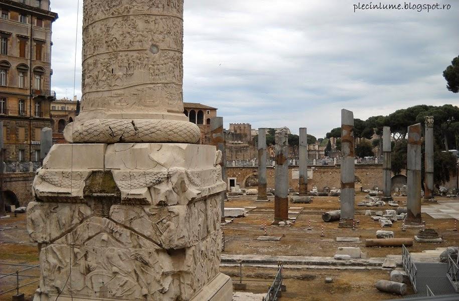 Columna lui Traian baza