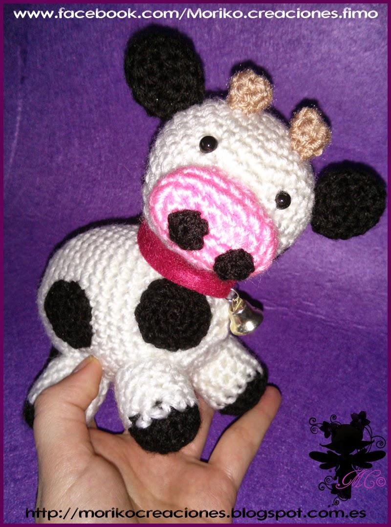 Moriko Creaciones: Vaca y Cerdito Amigurumi - Cow and Pig ...