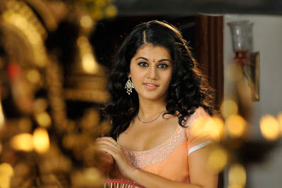tapsee looking in mogudu hot photoshoot