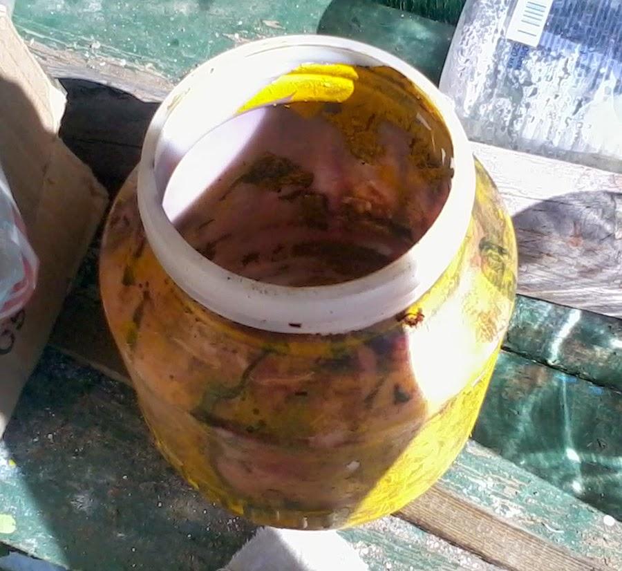 Чаша для краски краскопульта