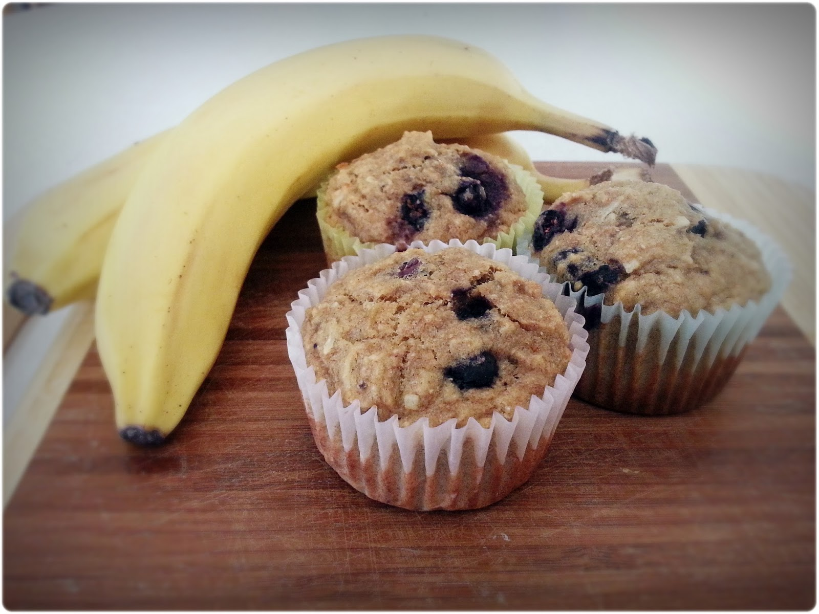Erickson and Co.: {recipe} Blueberry Banana Muffins