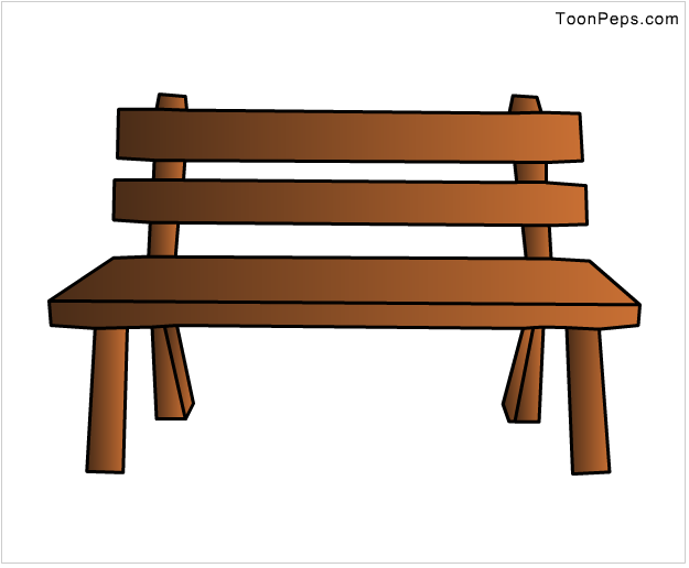 Art with Bella park bench tutorial