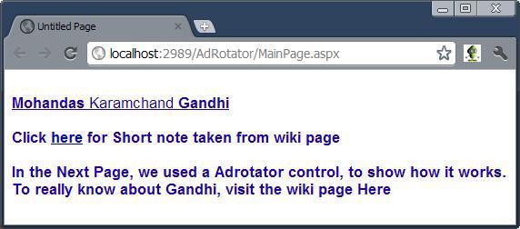 ASP.Net - AdRotator Control, AdvertisementFile and AdType ...