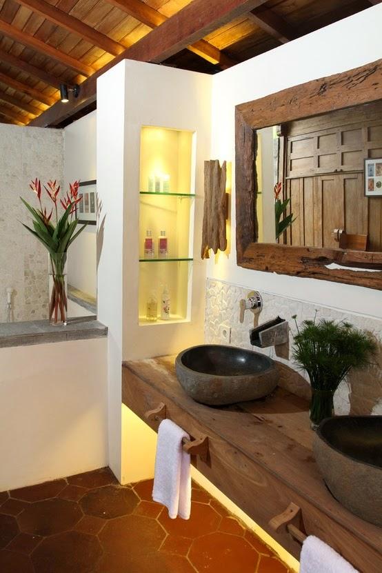 Decorar Baño Rustico:decorar baño rústico