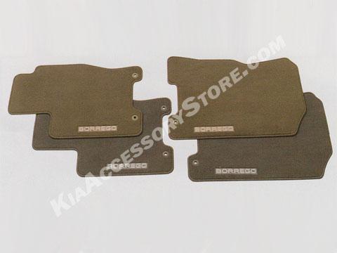 http://www.kiaaccessorystore.com/kia_borrego_beige_carpeted_floor_mats.html
