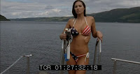 Incident at Loch Ness Kitana Baker sonar girl in bikini