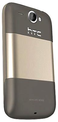 Celular Smartphone Htc Desire A8181 trás
