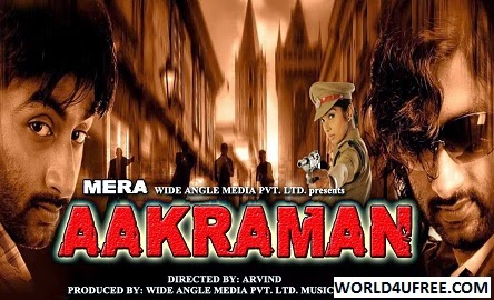 Mera Aakraman 2015 Hindi Dubbed WEBRip 350mb