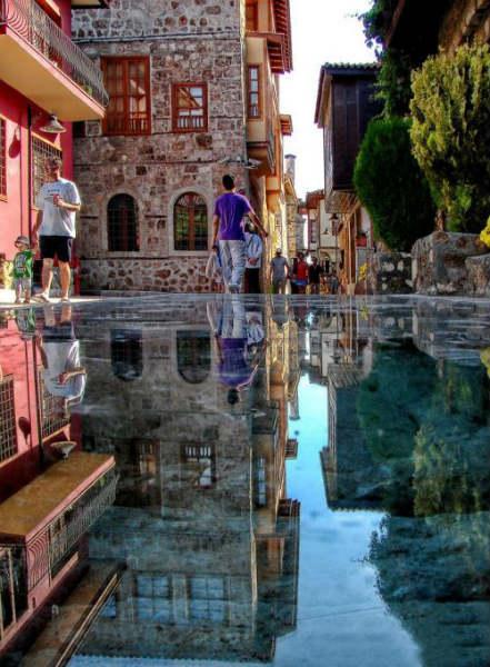 Amazing Stone Mirror in Antalya Turkey The Stone Mirror in Antalya
