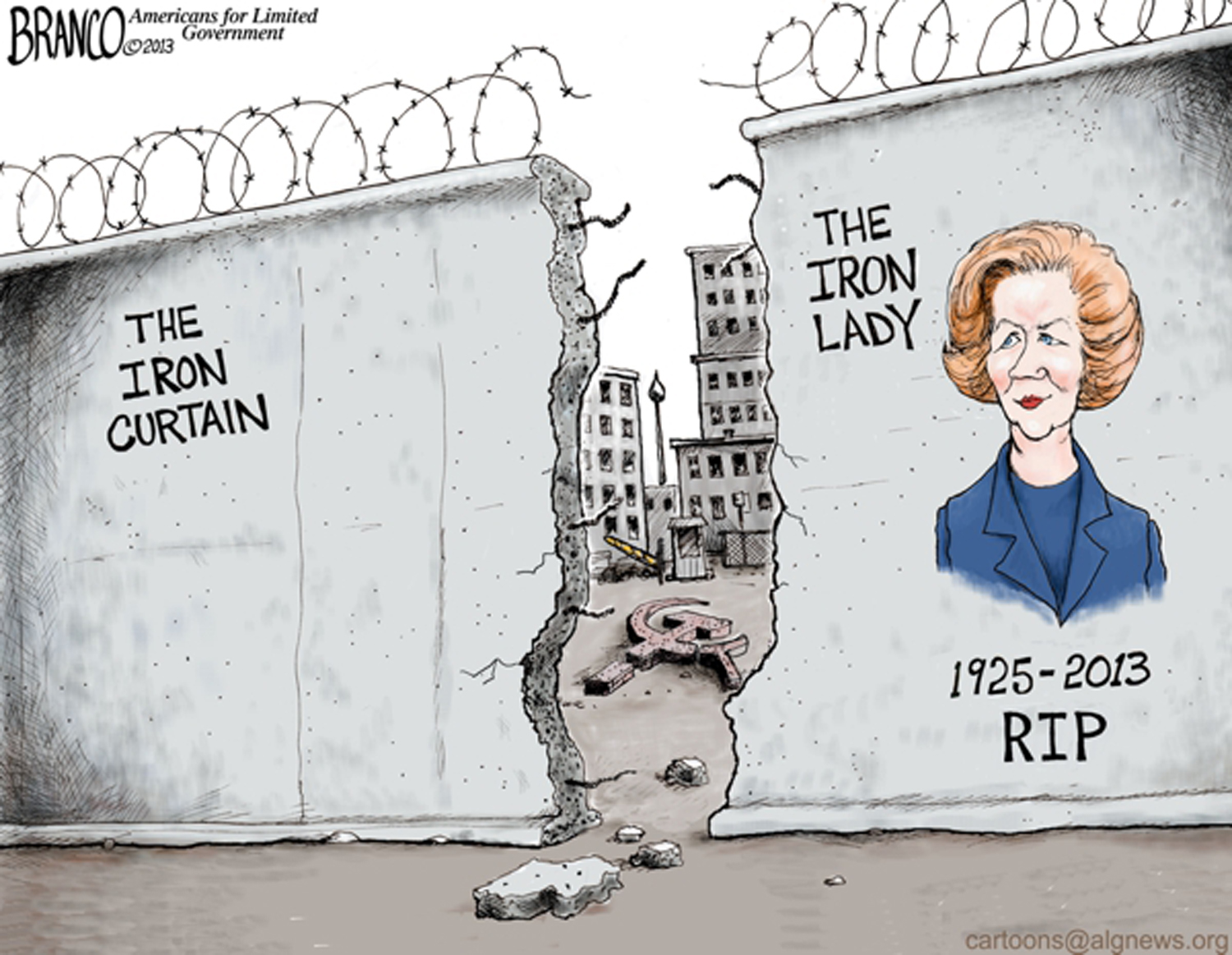 The Iron Lady Vs. The Iron Curtain