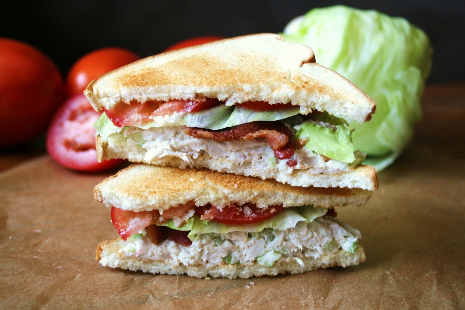 Thee Cook: Chicken Salad BLT