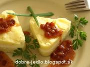 Syr v chrenovej zemiakovej kaši - recept