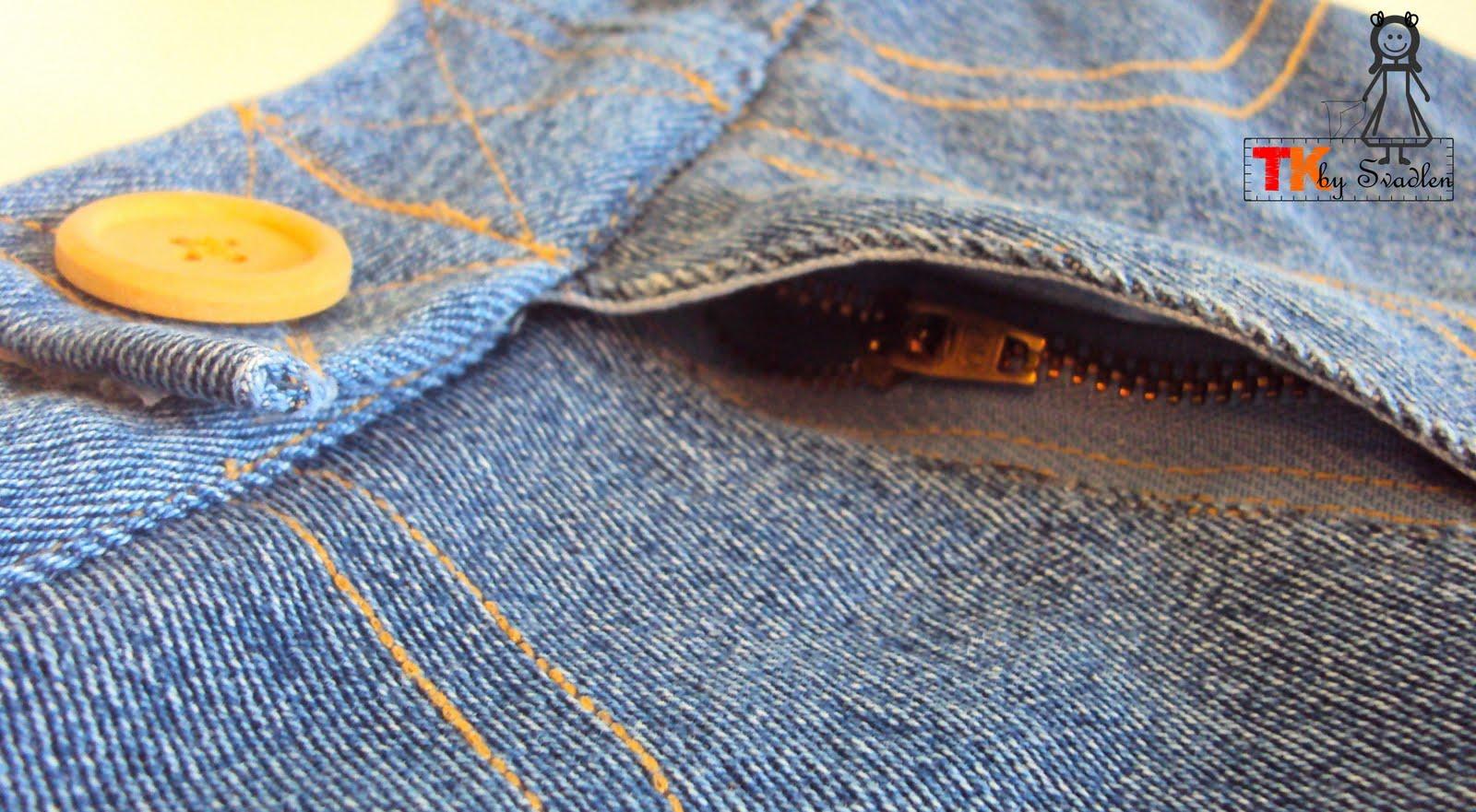 Что сшить из джинсы на флисе