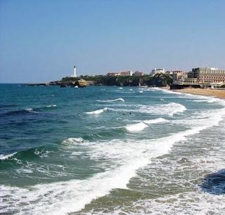 localita' estive .... biarritz ... la california di francia ...