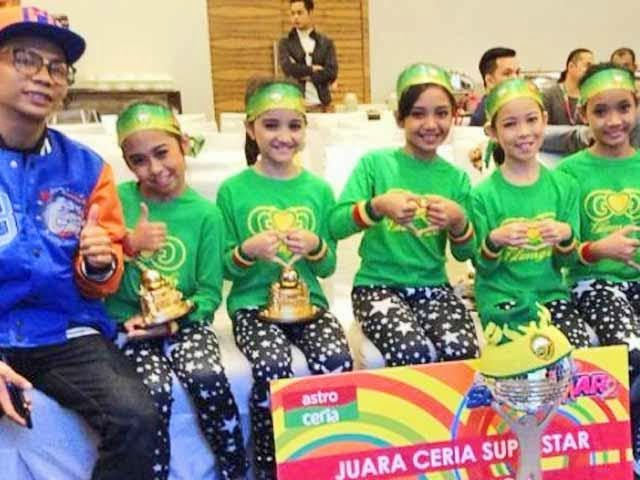 The Glam Girls Muncul Juara Ceria Superstar 2