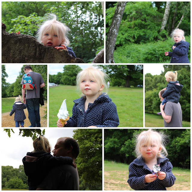 High Beech Epping Forest and a toddler