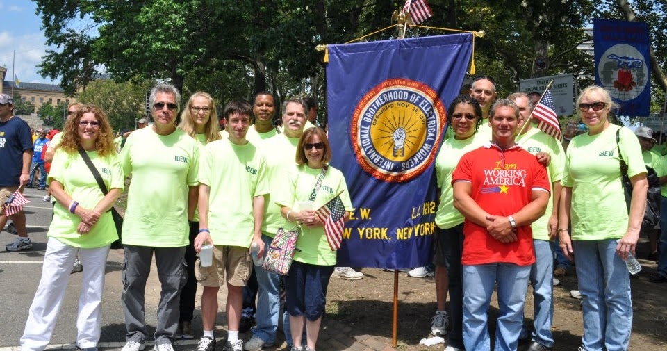 Broadcast Union News: IBEW Local 1212 Contingent at Workers Stand For ...