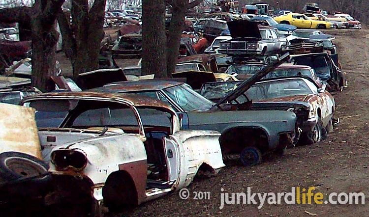 1958 Chevy Impala At French Lake Auto Parts