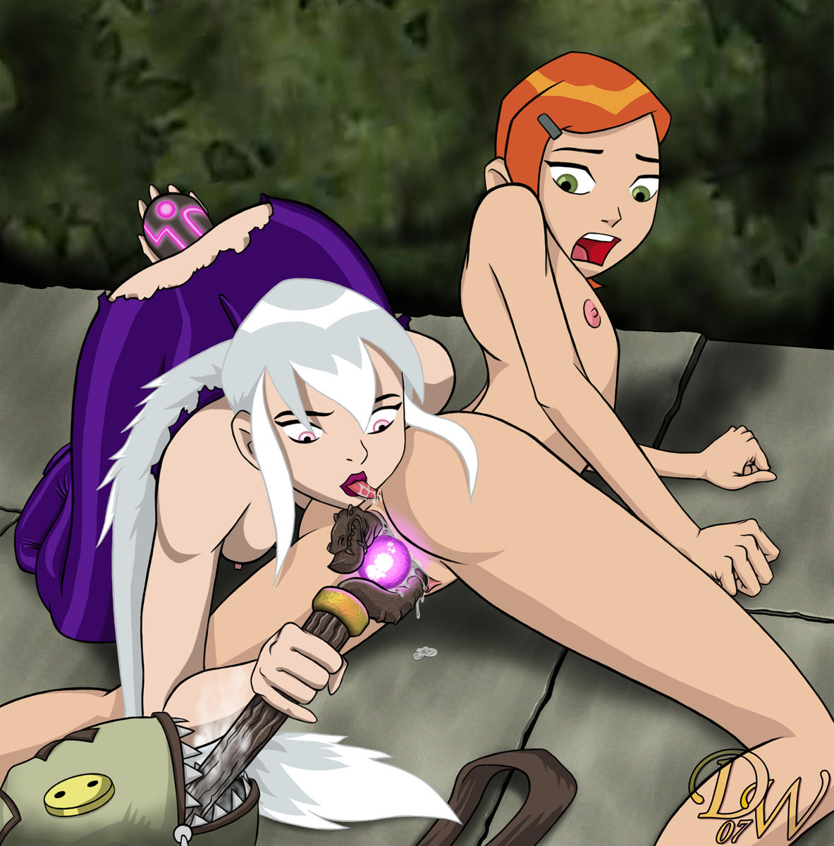 A Wet Dream on Elm Street: Ben 10 Porn 1