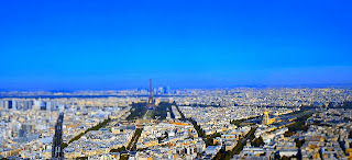 Holiday Fans travel the World RTW -family activities Budget Travel  View From Top platform Eiffel Tower in Paris