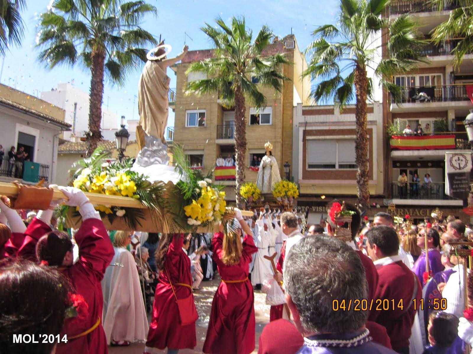 ENCUENTRO GLORIOSO, DOMINGO DE RESURRECCIÓN: 20.04.14